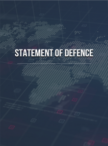 Statement of Defence