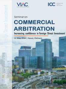 Seminar on Commercial Arbitration – Increasing confidence in Foreign Direct Investment