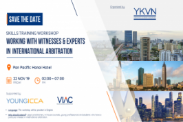 [Hanoi] Working with witnesses & experts in International arbitration - Skill training workshop