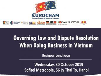 [Hanoi] Business Luncheon on Governing Law and Dispute Resolution when Doing business in Vietnnam