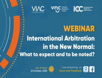 Webinar on International Arbitration in the new normal – What to expect and to be noted?