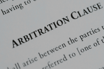 Does an invalid arbitration clause equal no arbitration clause?